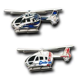 川崎重工 BK117D-2型ヘリコプターピンズ