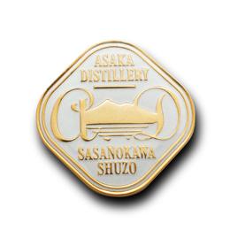 オリジナルピンバッジ製作実例 笹の川酒造株式会社 様