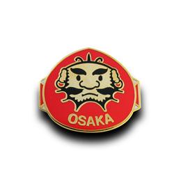 オリジナルピンバッジ製作実例|日本の凧の会 大阪支部 様