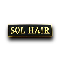 社章製作実例 SOL HAIR様