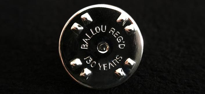 バロー社製バタフライクラッチの画像