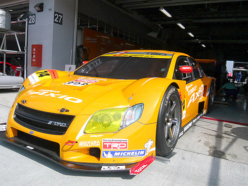 COROLLA Axio SUPER GT PROJECTに協賛