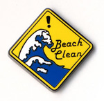 「Keep Beach Clean」ピンズ
