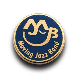 ピンバッジ制作実例:Moving Jazz Band様