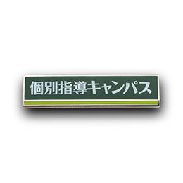 ピンズ製作実例 新教育総合研究会株式会社様