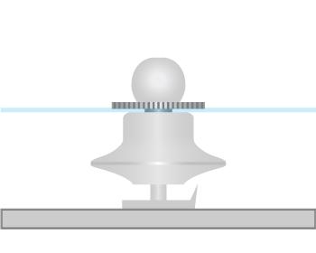海外製タイタックのアタッチメントの留め方の画像2