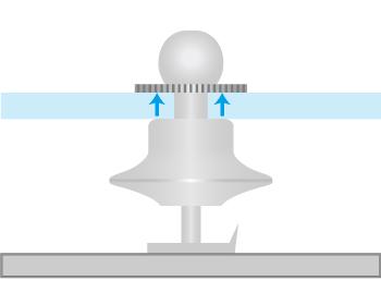 海外製タイタックのアタッチメントの留め方の画像3