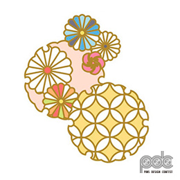 ピンズデザインコンテスト作品 No.18 田村 陽花「おもてうらなしのおもてなし」