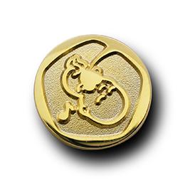 ピンズ製作実例 一般財団法人日本胎教協会の画像