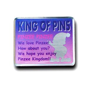 ピンズの工法 オフセットプリント(ステンレス)の画像