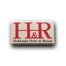 社章製作実例 北海道ホテル&リゾート株式会社の画像