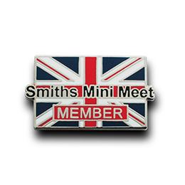 ピンバッジ製作実例 SMITHS SERVICEの画像