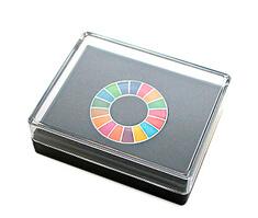 SDGsバッジ(ピンズ、ピンバッジ)のパッケージ参考例の画像