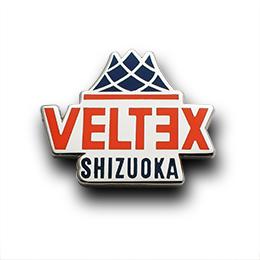 オリジナルピンバッジ制作実例 株式会社VELTEXスポーツエンタープライズ様