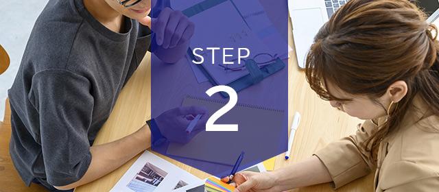 ご注文の流れ STEP2